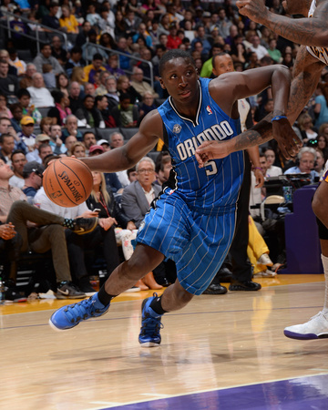 Orlando Magic v Los Angeles Lakers Photo by Andrew D Bernstein