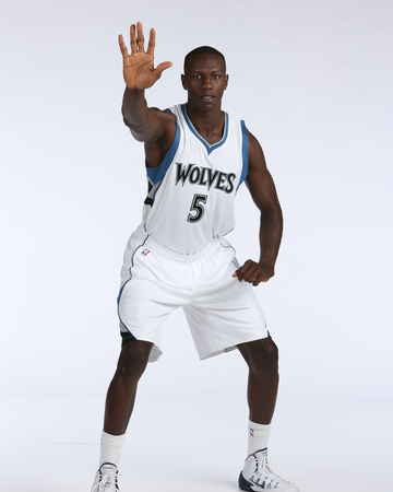 Minnesota Timberwolves Media Day Photo by David Sherman
