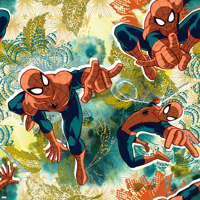 Ultimate SpiderMan - Spring Summer Trend Patterns Posters
