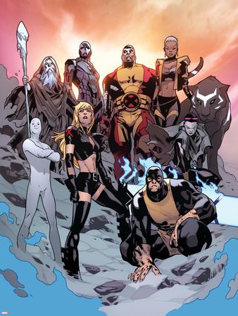 All-New X-Men No. 17: Sentinel, Colossus, Kymera, Iceman, Jubilee, Magik, Beast, Phoenix Photo