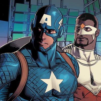 Avengers Assemble Style Guide: Captain America, Falcon Prints