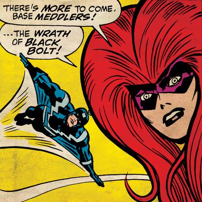 Marvel Comics Retro Style Guide: Black Bolt, Medusa Prints