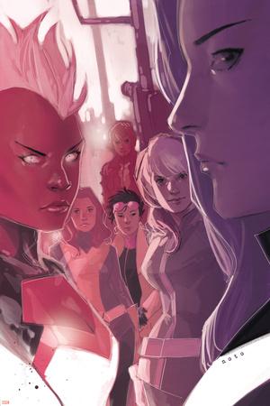 X-Men: Battle of the Atom No. 1: Summers, Rachel, Rogue, Storm, Pryde, Kitty, Psylocke Print