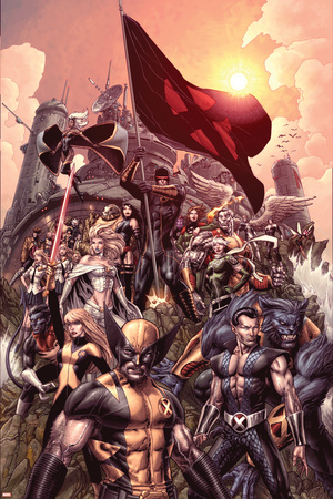 Nation X No. 1: Wolverine, Namor, Beast, Magik, Nightcrawler, Cyclops Posters