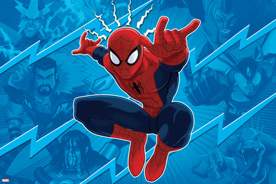 Ultimate SpiderMan - Sinister Art - Situational Art Prints