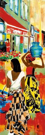 Market Day III Prints by Maria Donovan