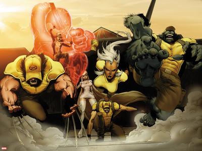 Astonishing X-Men: Xenogenesis No. 2: Wolverine, Armor, Frost, Emma, Storm, Cyclops, Beast Prints