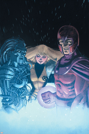 AVX: Consequences No. 5: Magik, Magneto, Danger Print