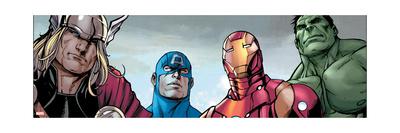 Avengers Assemble Style Guide: Thor, Captain America, Iron Man, Hulk Print