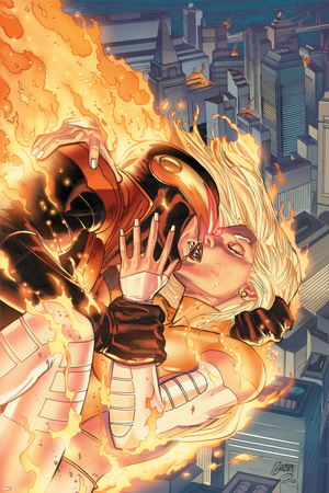 Uncanny X-Men No. 18: Cyclops, Frost, Emma Prints