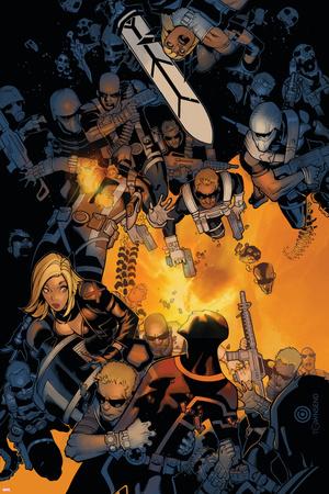 Uncanny X-Men No. 19: S.H.I.E.L.D., Cyclops, Magik, Frost, Emma Poster