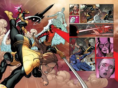 X-Men: Battle of the Atom No. 1: Grey, Jean, Beast, Cyclops, Iceman, Pryde, Kitty, Animax Print
