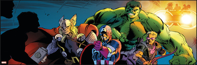 Avengers Assemble Style Guide: Thor, Captain America, Hulk, Hawkeye Photo