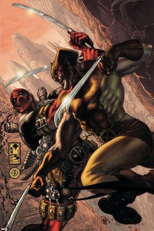 Wolverine: Origins No. 21: Wolverine, Deadpool Posters