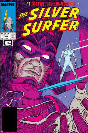 Silver Surfer By Stan Lee and Moebius No. 1: Silver Surfer, Galactus plakat