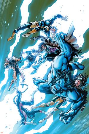 X-Men Forever No. 3: Beast, Cyclops, Gambit Posters