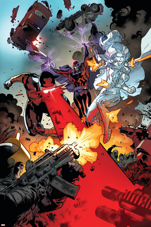 All-New X-Men No. 1: Cyclops, Frost, Emma, Magneto Posters