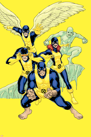 X-Men: Battle of the Atom No. 1: Beast, Cyclops, Grey, Jean, Angel, Iceman Posters