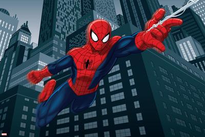 Ultimate SpiderMan - Art - Situational Art Prints