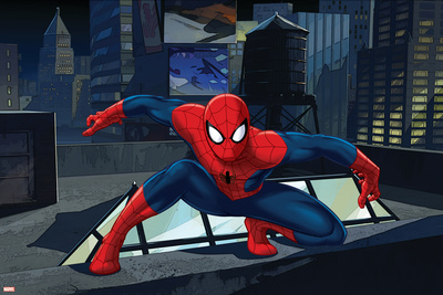 Ultimate SpiderMan - Art - Situational Art Posters