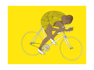 Yellow Major Taylor, 2014 Giclee Print by Eliza Southwood