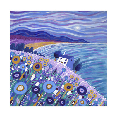 Clifftop Cottage, 2013 Giclee Print by David Newton