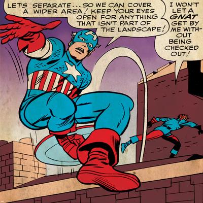 Marvel Comics Retro Style Guide: Captain America Photo