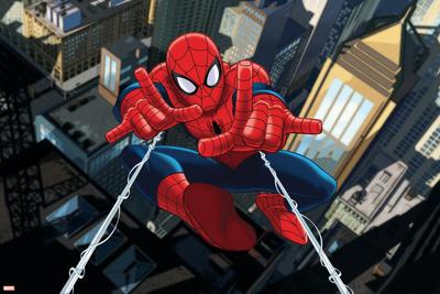 Ultimate SpiderMan - Art - Situational Art Photo
