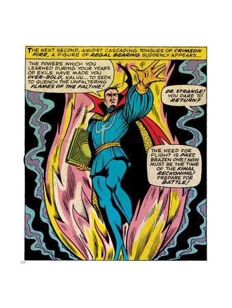 Marvel Comics Retro Style Guide: Dr. Strange Posters