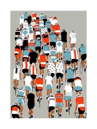 Peloton, 2013 Giclee Print by Eliza Southwood