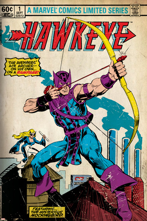 Marvel Comics Retro Style Guide: Hawkeye Posters