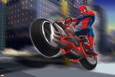 Ultimate SpiderMan - Situational Art Posters