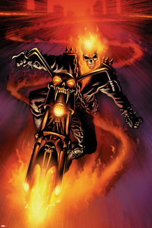 Marvel Extreme Style Guide: Ghost Rider Prints