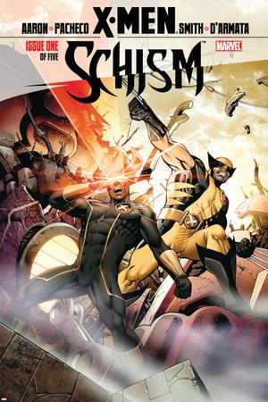 X-Men: Schism No. 1: Cyclops, Wolverine Prints