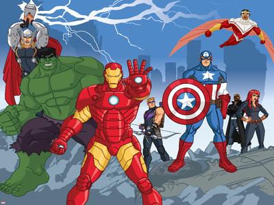 Avengers Assemble Photo