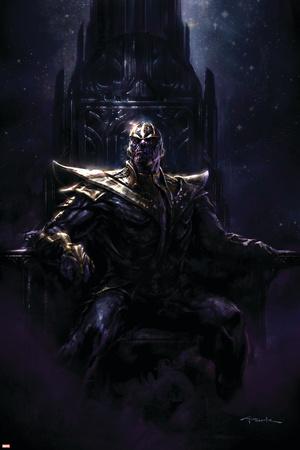 Thanos Quest No. 1: Thanos Láminas