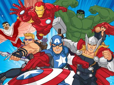 Avengers Assemble Prints!