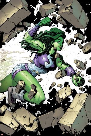 She-Hulk No. 1: She-Hulk Prints