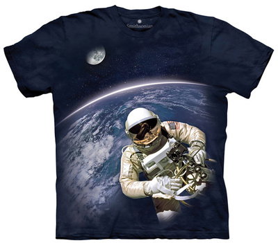 Youth: First American Space Walk Smithsonian Collection T-Shirt