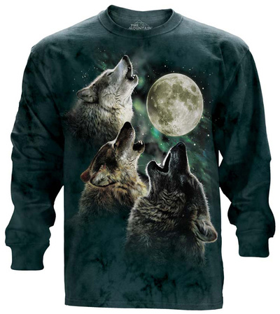 Long Sleeve: Three Wolf Moon Long Sleeves