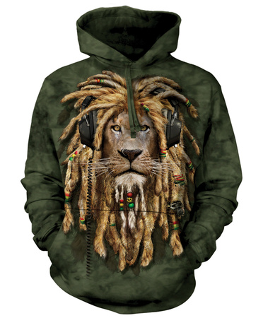 Dark olive green hoodie DJ Jahman graphic holiday gift gifts