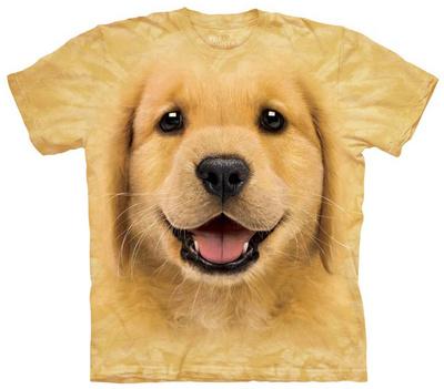 Youth: Golden Retriever Puppy Tシャツ