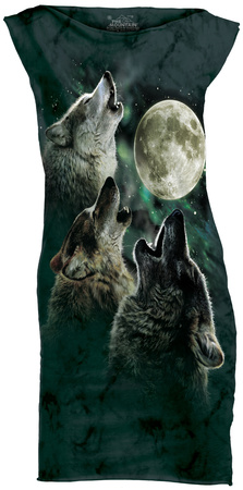 Mini Dress: Three Wolf Moon Mini Dress