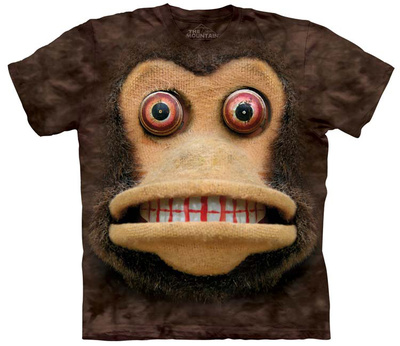 Big Face Cymbal Monkey T-shirts