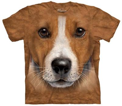 Big Face Jack Russell Terrier T-Shirt