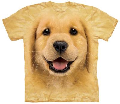 Golden Retriever Puppy T-shirts