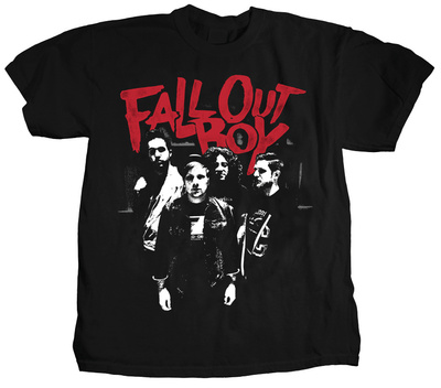Fall Out Boy - Punk Scratch Photo Shirts