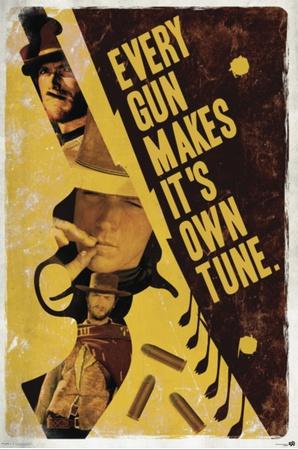 Clint Eastwood - Every Gun Prints
