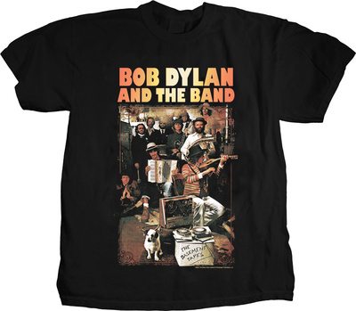 Bob Dylan and the Band - Basement Tapes T-shirts