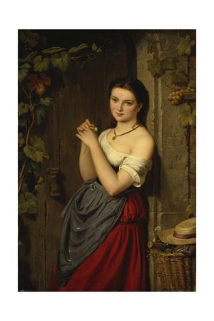 The Marguerite, 1864 Giclee Print by Benjamin Vautier
